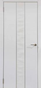 Межкомнатная дверь Герда 500 Белый глянец ДО (Экошпон)