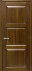 Межкомнатная дверь Трио (массив БУК)