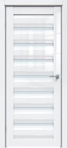 Межкомнатная дверь GLOSS 585 Белый глянец SATINATO