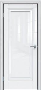 Межкомнатная дверь GLOSS 590 Белый глянец