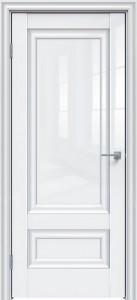 Межкомнатная дверь GLOSS 598 белый глянец