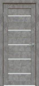 Межкомнатная дверь 502 Бетон тёмно-серый